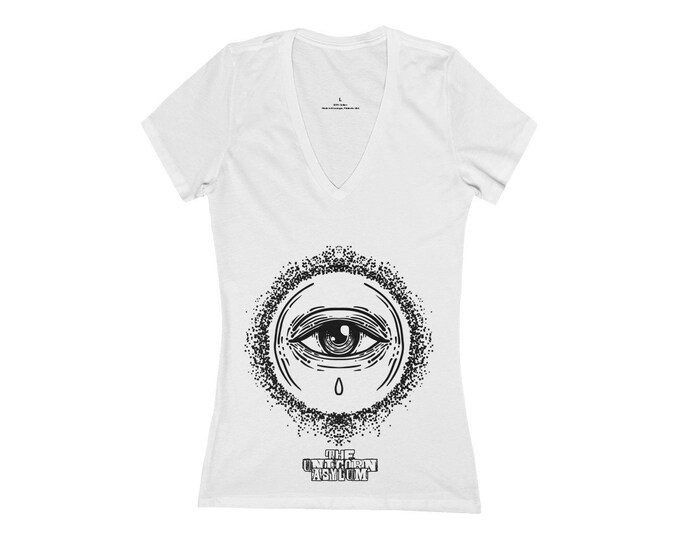 The eYe of Truth- Deep V-Neck Tee