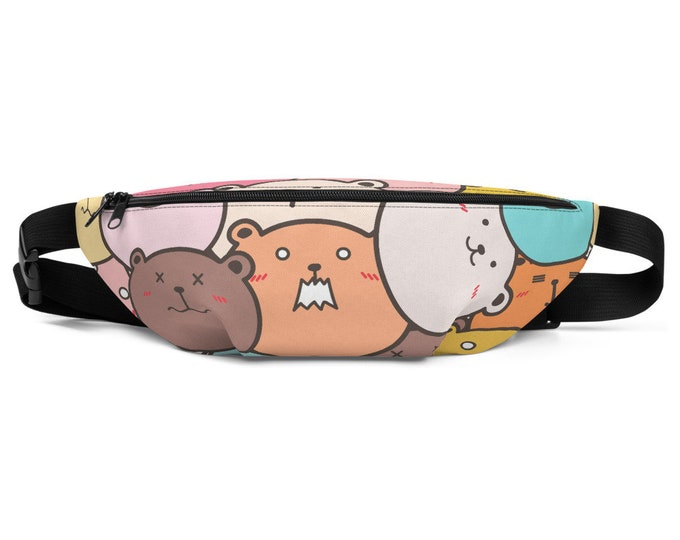 Hot Mess Bears -Fanny Pack