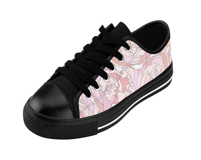 Pink Peony Sneakers