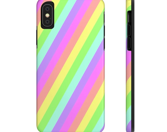 Pastel Rainbow -Case Mate Tough Phone Cases