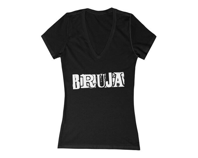 Bruja Deep V-Neck Tee