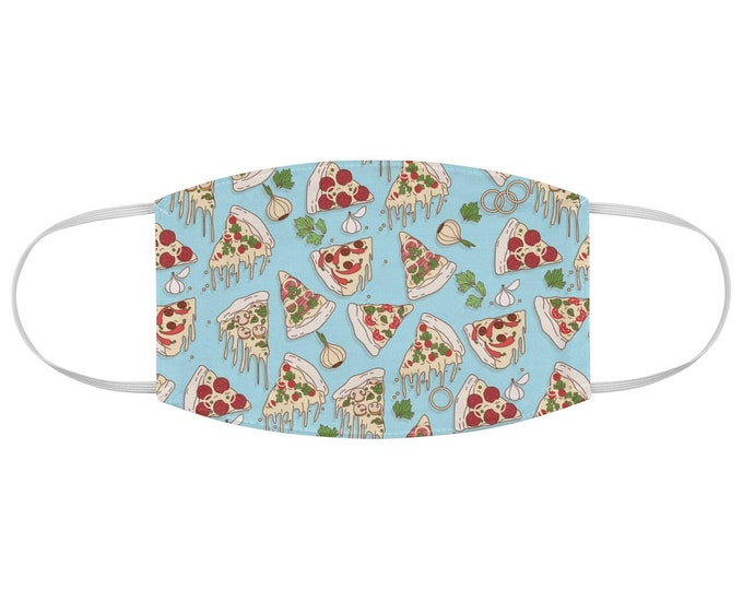 Pizza Pattern Fabric Face Mask