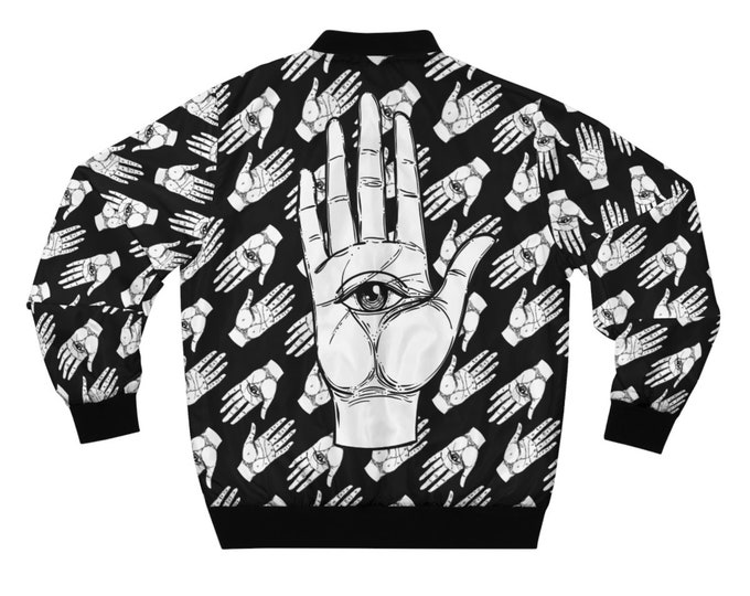 The Hand Of Fate- Bomber Jacket