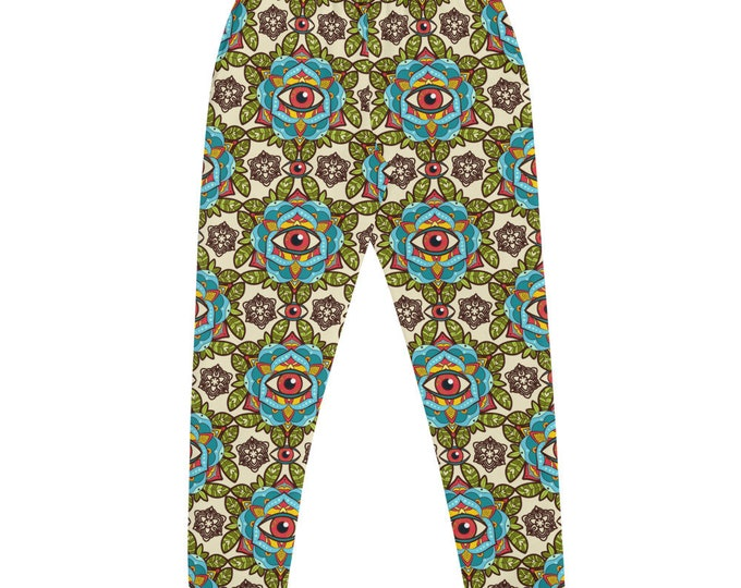 Third Eye Pattern Joggers