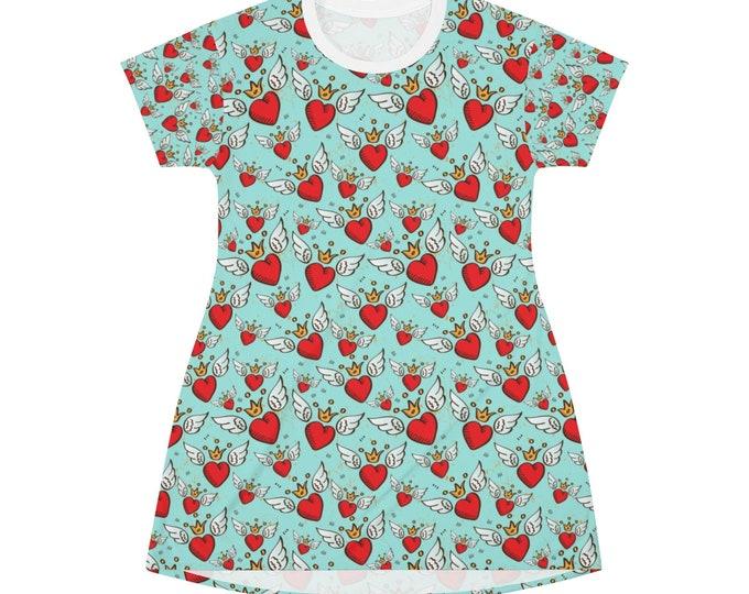 Sacred Heart T-shirt Dress