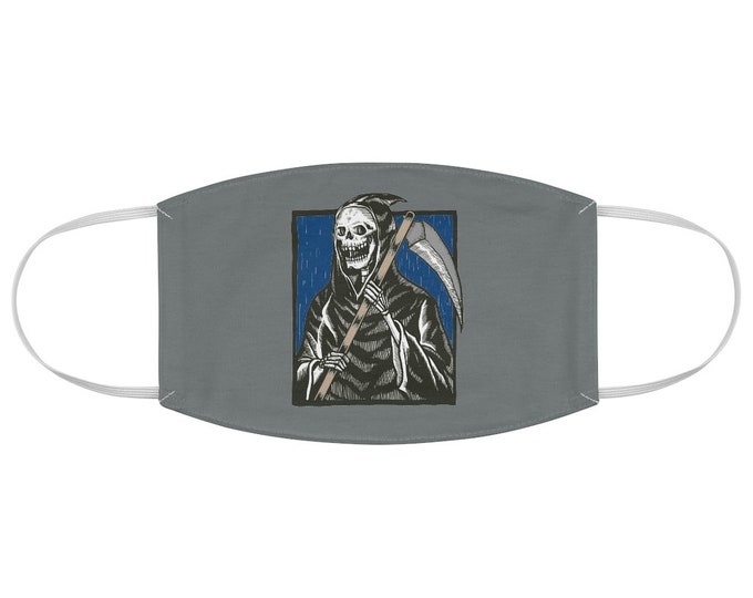 Grim Reaper Fabric Face Mask