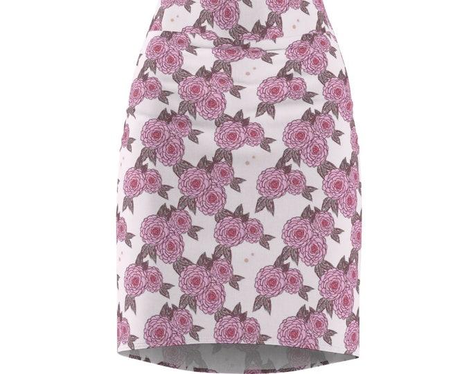 Morning Primrose Pencil Skirt