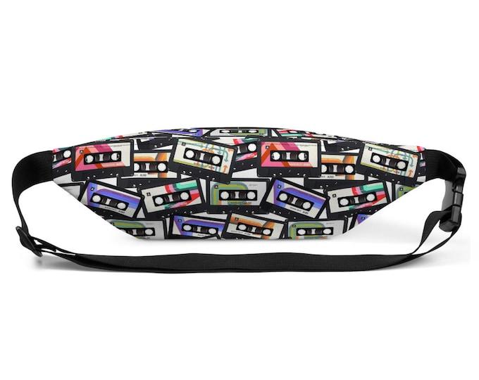 80's Cassette Tape- Fanny Pack