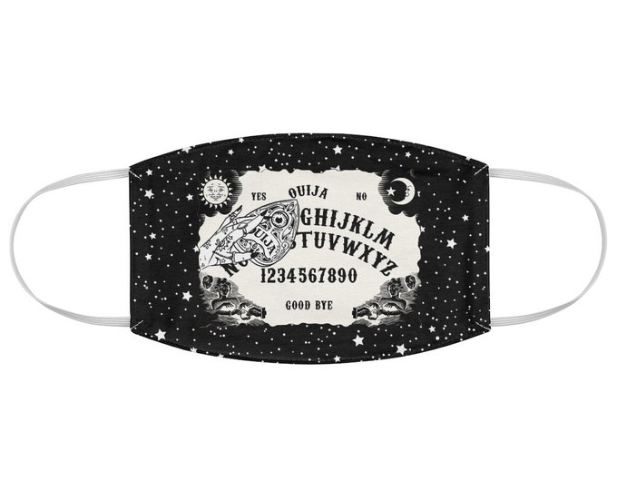 Ouija Board Fabric Face Mask Style 2