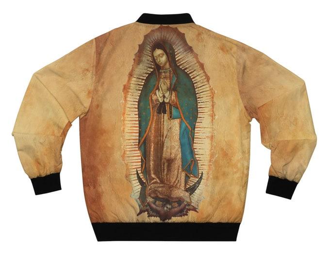 Our Lady Of Guadalupe V.2 - Unisex Bomber Jacket