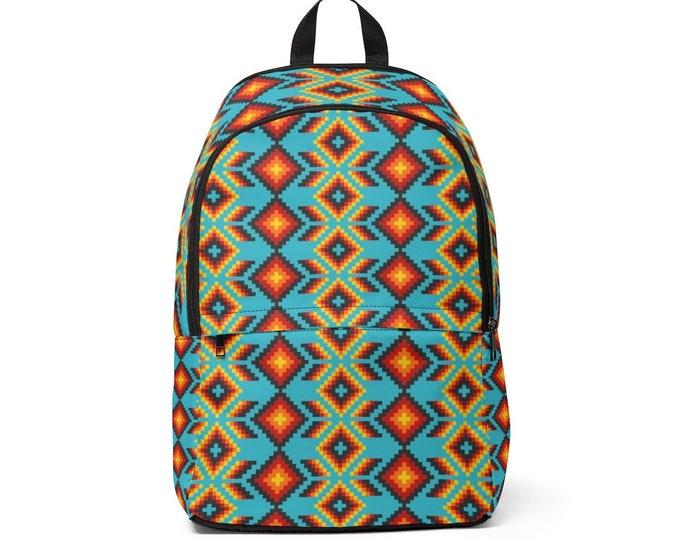 Turquoise Dusk Backpack