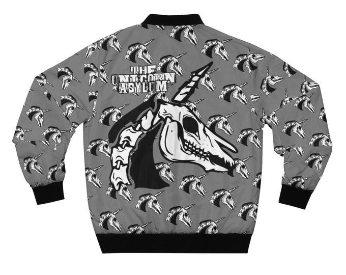 Unicorn Skull- Bomber Jacket