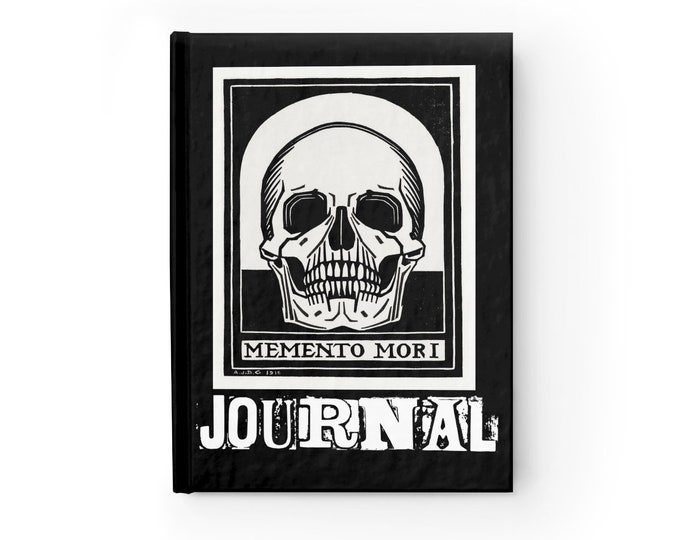 Memento Mori Journal - Ruled Line