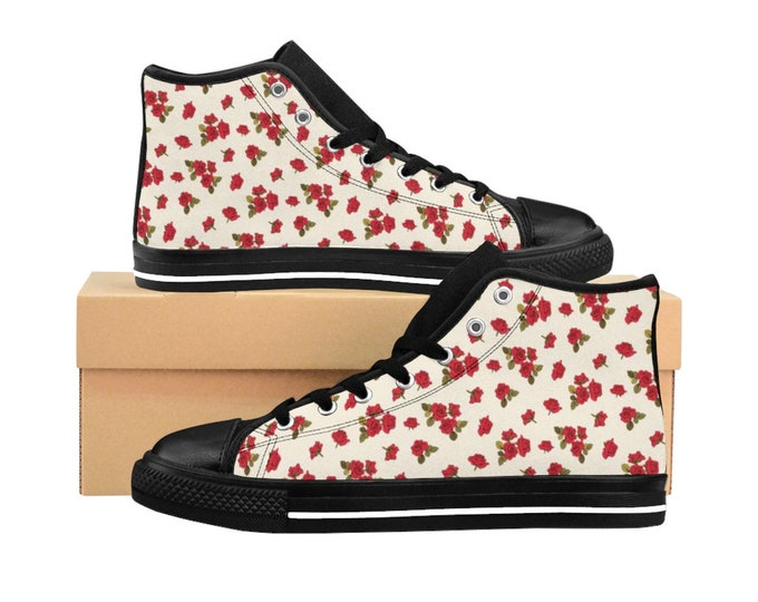 Afternoon Rose High-top Sneakers