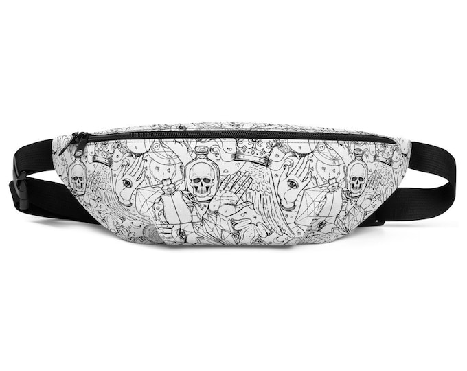 Esoteric Dreams Divination Alchemy Fanny Pack