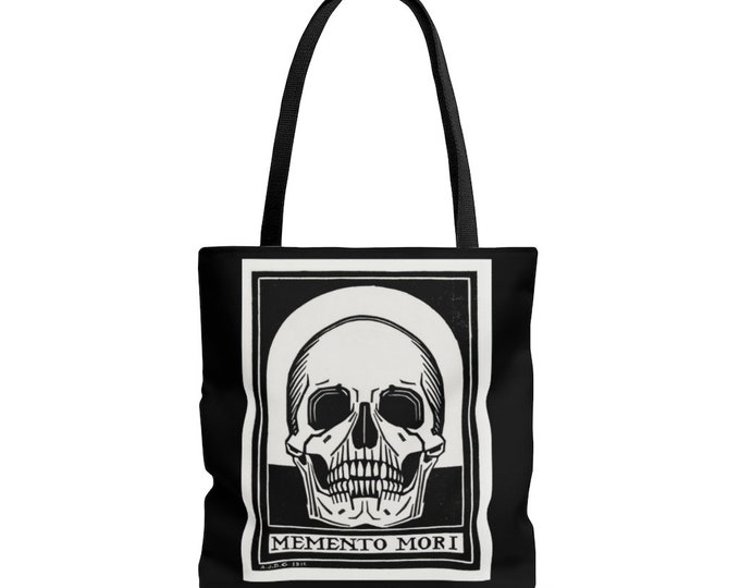 Memento Mori Reusable Tote Bag
