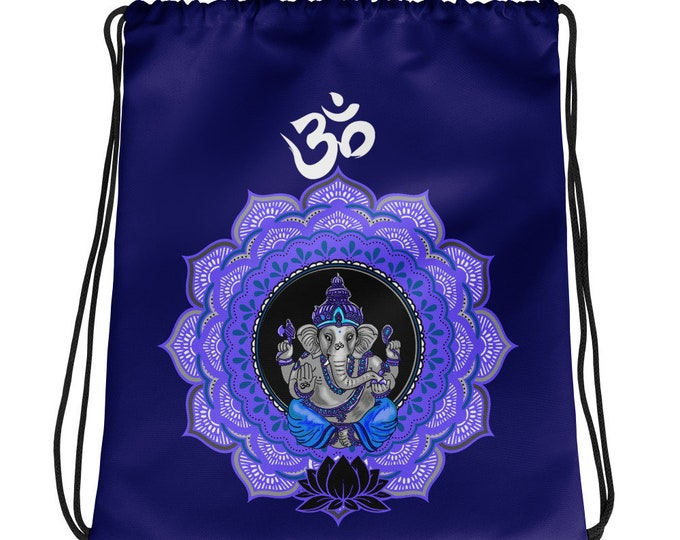 Ganesha Drawstring bag