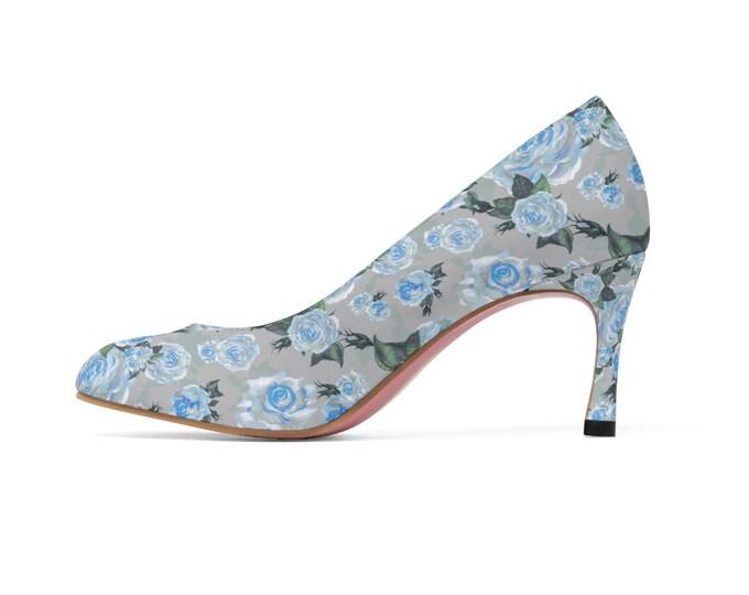 The Slate Rose -Vegan High Heels