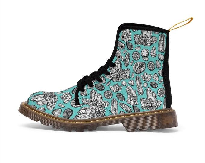 Gemstone Vegan Boots