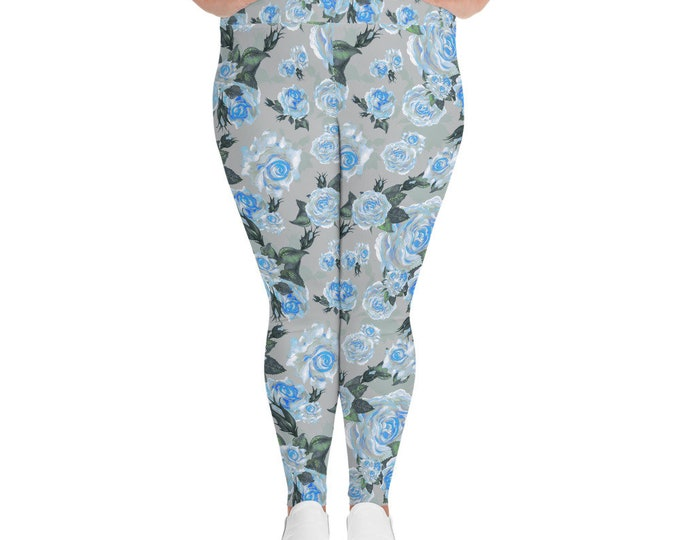 The Slate Rose- Plus Size Leggings
