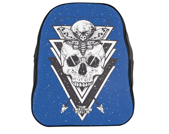 Death Hawk Backpack- Blue
