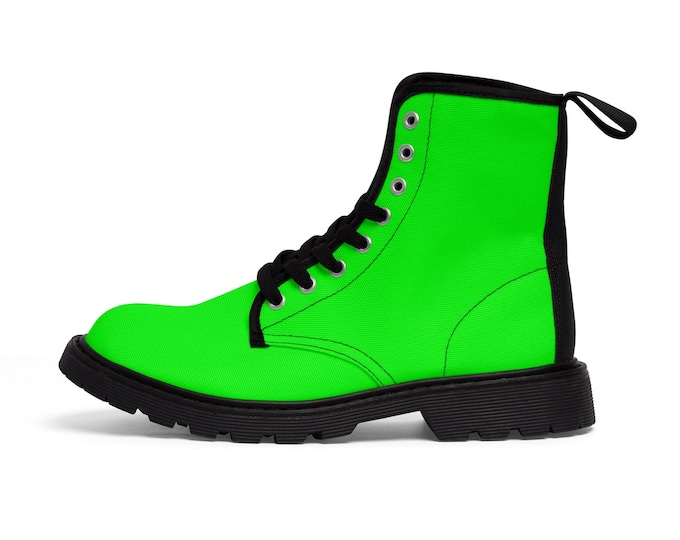 Neon Lime Boots
