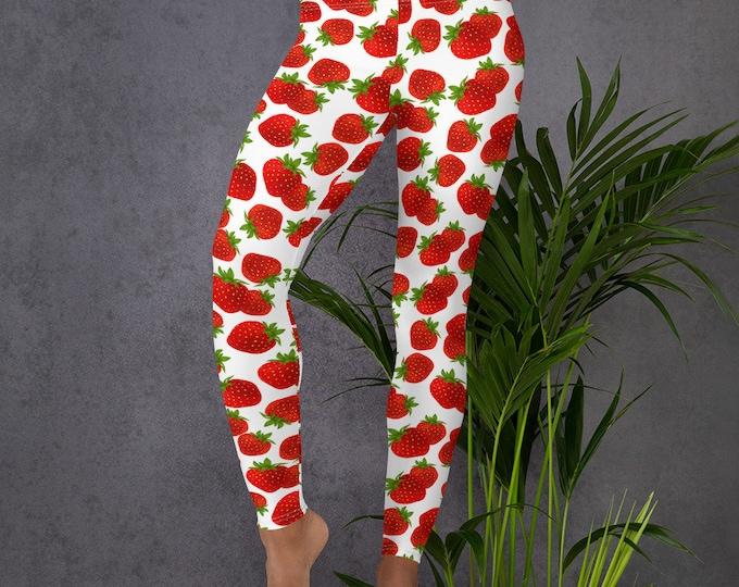 Strawberry Dreams Leggings