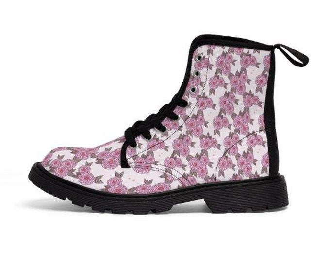Morning Primrose Vegan Combat Boots