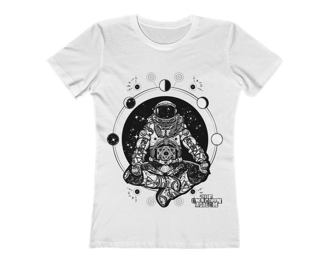 Cosmic Astronaut of The Multi-Verse Fitted Tee