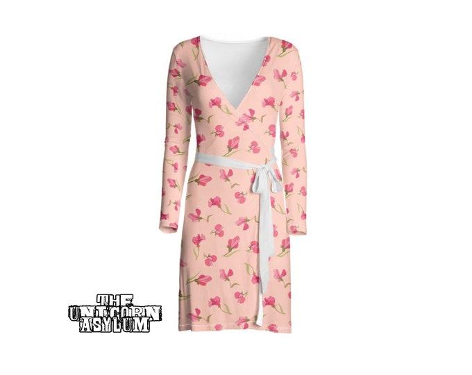 Sweet Pea Wrap Dress