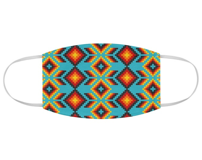 Native Style Pattern Fabric Face Mask