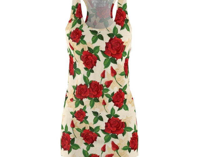 Tuscan Rose- Racerback Dress