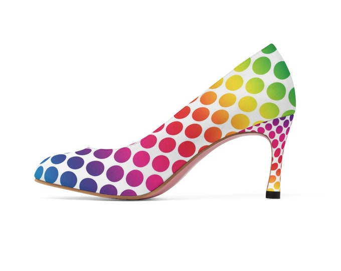 Rainbow Dreams High Heels