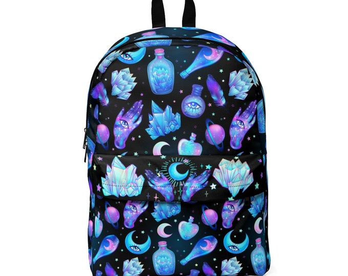 """Pastel Goth """"Alchemy"""" Classic Backpack"""
