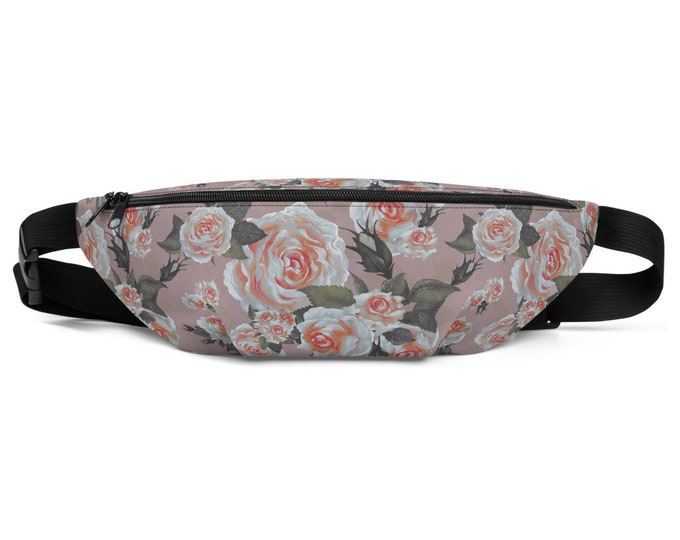 Wild Rose Fanny Pack
