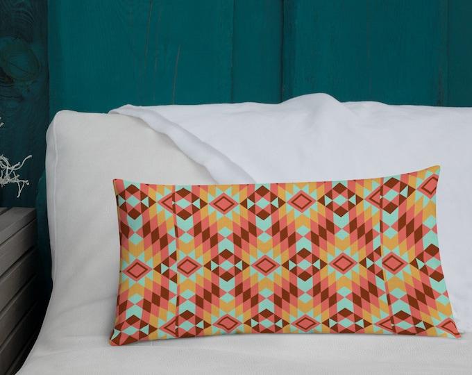 Apache Sunrise Decor Pillow
