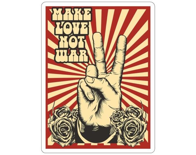 Make Love Not War Decal