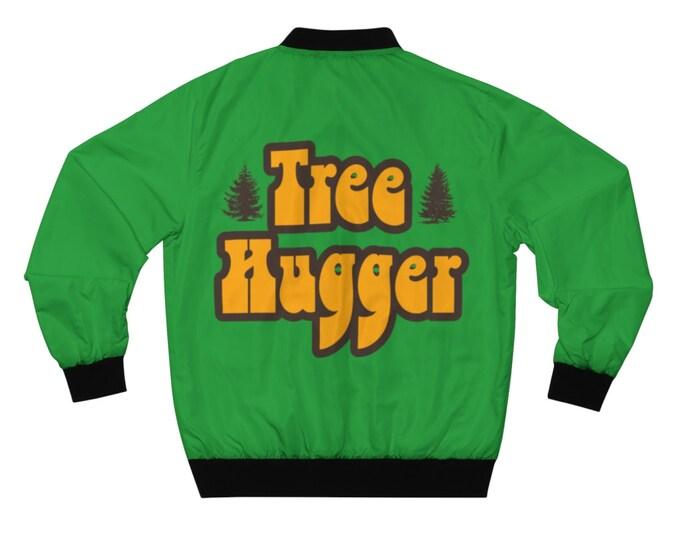Tree Hugger Vintage 70s Style Bomber Jacket