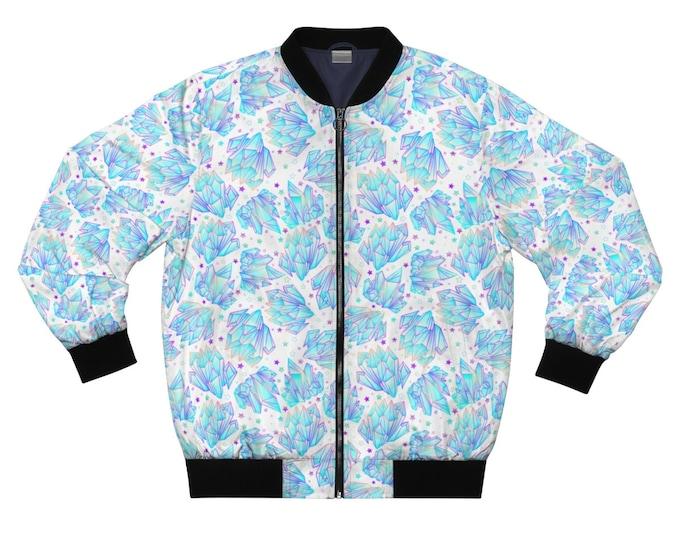Cosmic Quartz Bomber Jacket