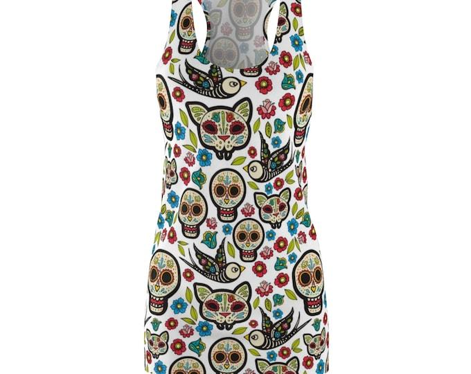 Dia De Los Muertos- Racerback Dress