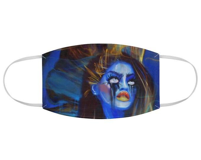 I'm Not Who I Used To Be Fabric Face Mask , Art Mask, Beautiful Masks