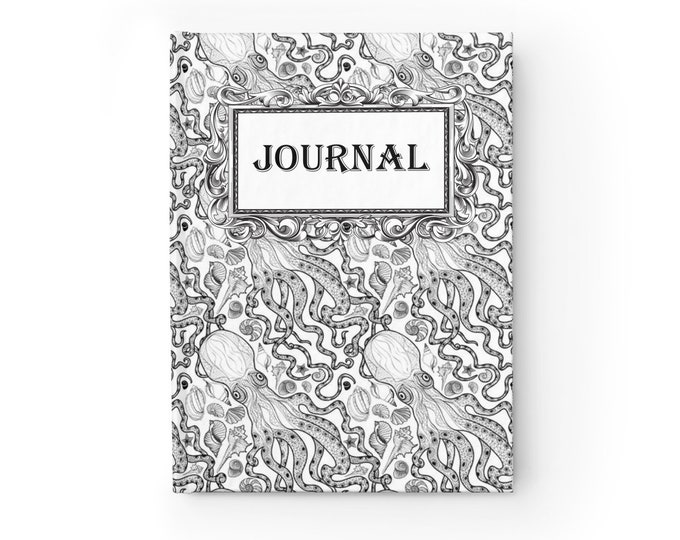 Octopus Journal - Ruled Line