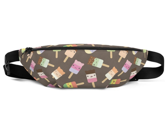Sweet Tooth Kawaii Popsicle- Fanny Pack