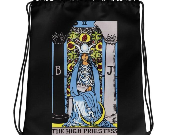 The High Priestess Drawstring Backpack