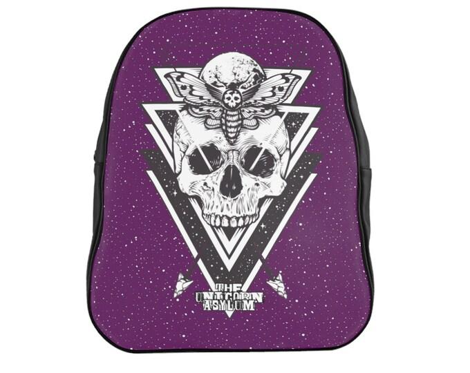 Death Hawk Backpack - Purple
