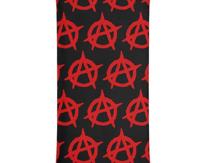 Anarchy Neck Gaiter Versatile Face Mask, Scarf, Head Band, Neck Warmer, Bandana, Wrist Band