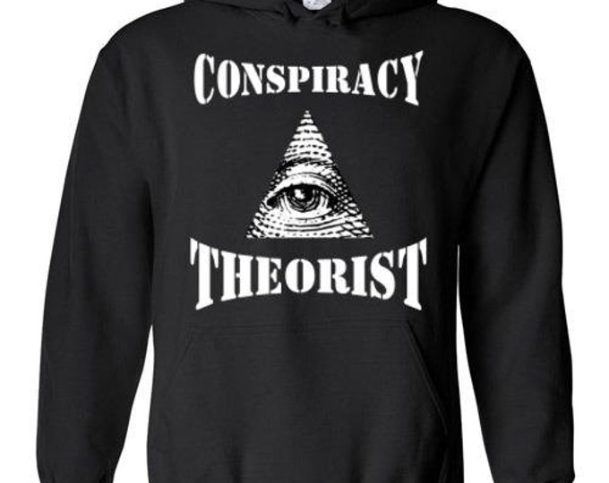 Conspiracy Theorist Hoodie (Available in 6 colors)