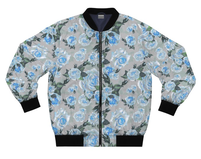 Slate Rose- Bomber Jacket