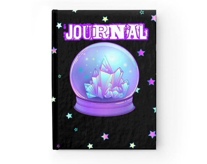 Crystal Ball Journal - Ruled Line
