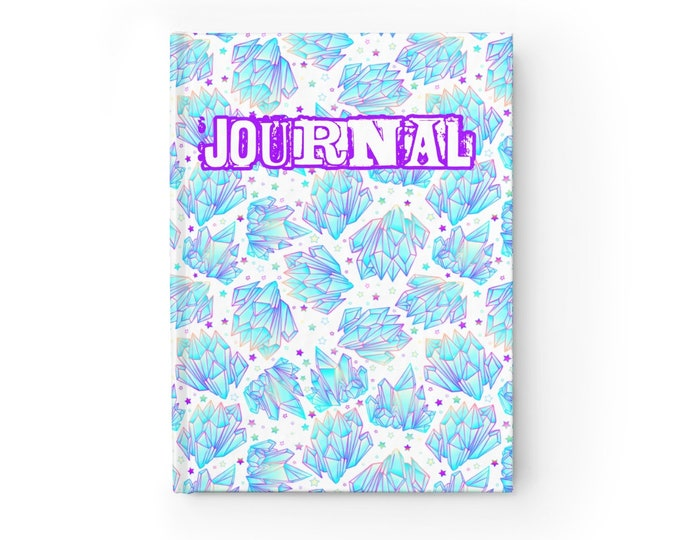 Crystal Journal - Ruled Line